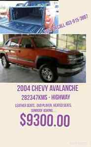 2004 Chevy avalanche