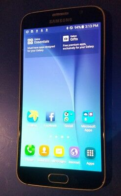 Samsung Galaxy S6 SM-G920R - 32GB - Black Sapphire (c-spire) Smartphone Unlocked