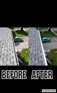 Eavestrough repairing and installing services Cambridge Kitchener Area image 7