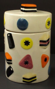 Licorice Allsorts Ceramic Cookie Jar