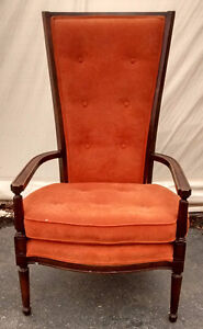 Chair Vintage Tall Back