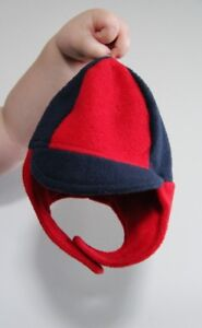Toddler - Fleece Winter Hat With Ear Flaps - Size 6+ Months