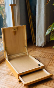 Wooden Easel Box