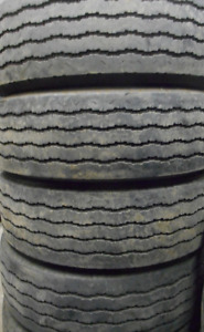 Goodyear G159 STEER 245/70/19.5=85% Tread=4 tires $200 EACH