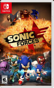 Sonic Forces for the Switch. $45.00