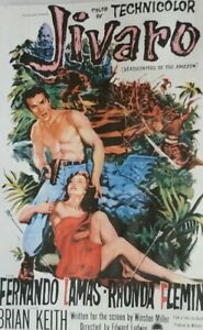 JIVARO (DVD 1954 Fernando Lamas Rhonda Fleming)