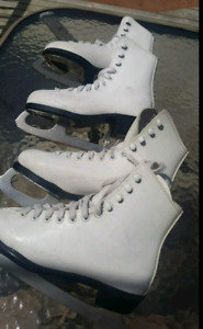 Girls skates size 1 and 2