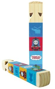 NEW THOMAS THE TRAIN WOODEN WHISTLE SCHYLLING X2 rare 45th anniv