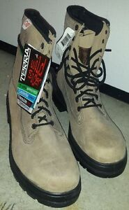 NEW - STEEL TOE - WORK BOOTS - CSA Certified