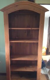Lovely solid wood shelving unit