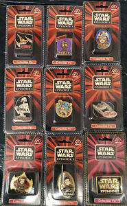 STAR WARS EPISODE ONE set of collectible pins