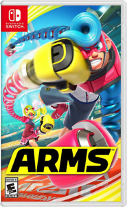 New In Box ARMS Game For NINTENDO SWITCH Sealed/Scellées