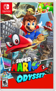 SUPER MARIO ODYSSEY NINTENDO SWITCH (MINT CONDITION USED)