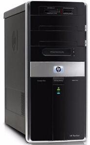 Quad Core HP Desktop, 4 GB Ram, 200 GB HDD Windows 7
