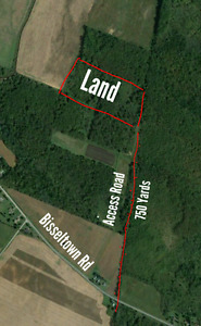 Recreational land for sale 18 acres !