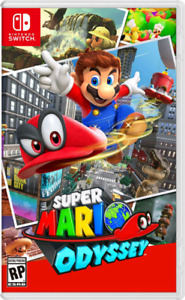 Mint copy of Mario Odyssey Trade for other switch games