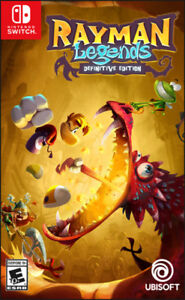 BRAND NEW RAYMAN LEGENDS DEFINITIVE EDITION FOR NINTENDO SWITCH