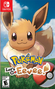 Let's go Eevee for the Nintendo Switch