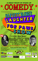 Harvest Blend Presents The Laughter For Paws Show