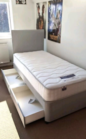 Graceful Divan Beds+Headboard+Mattress & Storage Drawers Available on