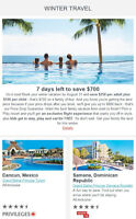 7 Days Left to Save Up to $700 with Air Canada Vacations