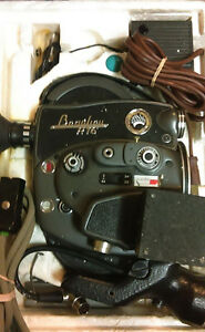 Mint Rare Vintage Beaulieu R16 16mm Movie Camera,PowerG,Sp Zoom