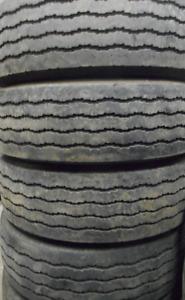Goodyear G159 STEER 245/70/19.5=85% Tread=4 tires $200 EACH