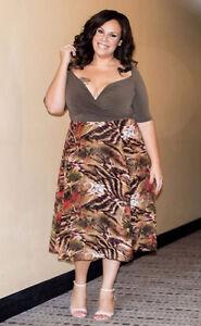 Sexy Designer Plus Size Clothing - TAKE 15% OFF! Sizes 0X-6X