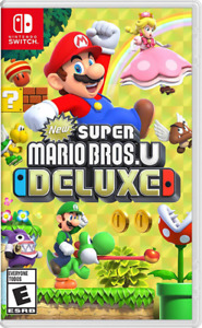 New In Box SUPER MARIO U DELUXE Game For NINTENDO SWITCH Sealed