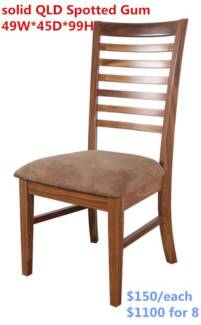 FACTORY DIRECTLY SALE- SOLID HARDWOOD CHAIR/ VIC QLD TAS NSW WA