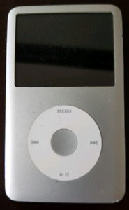Ipod classic 7th generation 160gb with case and charging cable.