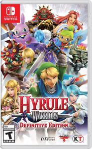 Jeu Hyrule Warriors : Definitive Edition Nintendo Switch Game