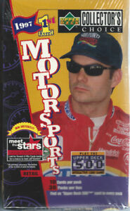 Upper Deck Collector's Choice 1997 Racing Retail Box