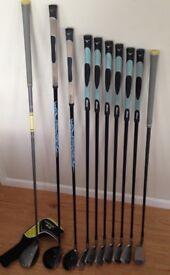 Golf Set - Ladies Mizuno JPX 800 HD Irons 5-SW + 3 + 5 Wood & Hybrid MUST SEE