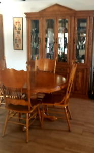 Hutch and Dining table