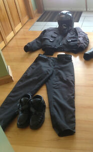 Motorcycle or ATV suit for man