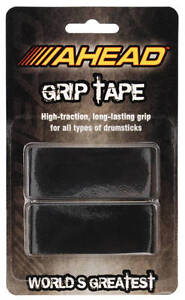 NEW! Ahead Drum Stick BLACK GRIP TAPE for Drumsticks High-Traction Lars Ulrich
