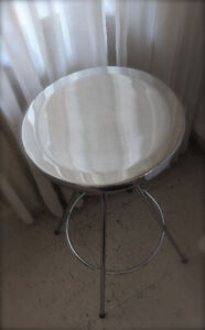 Stool - Silver Stainless Steel