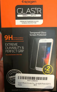 iPhone 8 Tempered Glass Screen Protector (pkg 2)