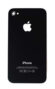 iPhone 4 Back Cover Black New