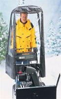 Universal Snow Blower Cab - Excellent Condition $90 OBO