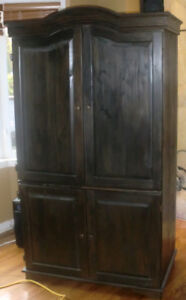 storage cabinet - fits a 42 inch TV.