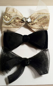 Assorted Hair Bows - Made In France