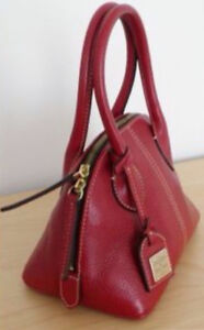Dooney & Bourke red leather purse $250