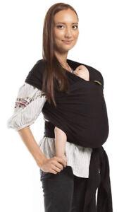 Boba baby wrap, black