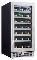 Refroidisseur à vin 34 bouteilles Silhouette Select Danby ( DWC93BLSST )