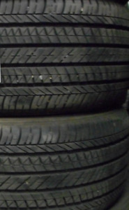 $200 TOTAL PRICE Bridgestone Ecopia EP422 215/50/17-85% TREAD(2