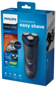 Philips Shaver Series 3000 Dry Electric Shaver