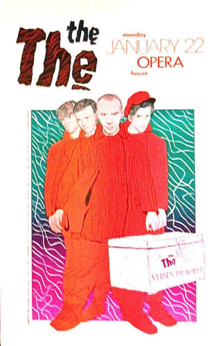 The THE (ENGLAND) Versus the World - BY JAGMO Signed - Original AUSTIN TX SCARCE