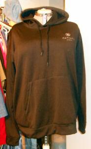 New Black Mens or Ladies XL hoodie with Caesars Windsor Logo Windsor Region Ontario image 3